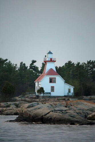 Lighthouse on Shoreline