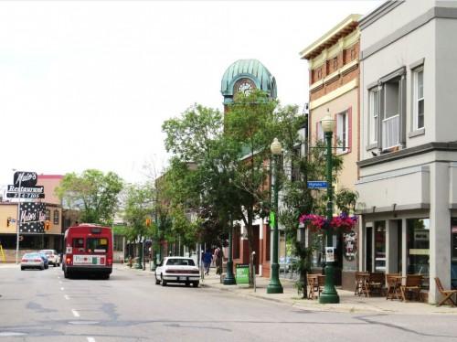 buildings in downtown Sault Ste. Marie